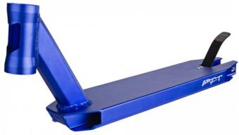 Grit deck invader frein inclus anodized blue