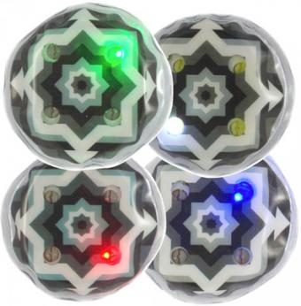 Led Decoratives (set de 4) (activation vibration)