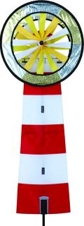 Red & White Lighthouse Spinner
